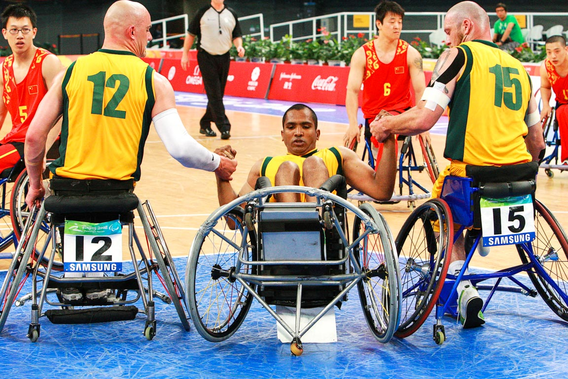 Beijing Paralympics Disability Sports-5
